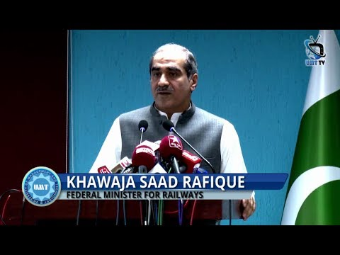 Federal Minister for Railways Delivers a Talk on the Future of Railways in the Light of CPEC