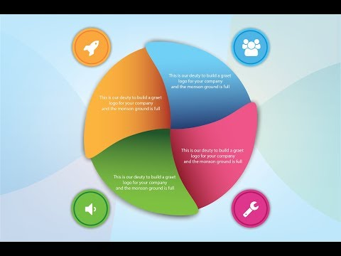 "Learning Graphics Design / How to Design ""Circle Infographic"" / Vector Art design Tutorial"