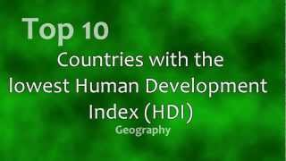 Top 10: Least Developed Countries