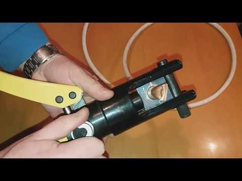 Пресс гидравлический ручной ПРГ 300 - обзор и тест.