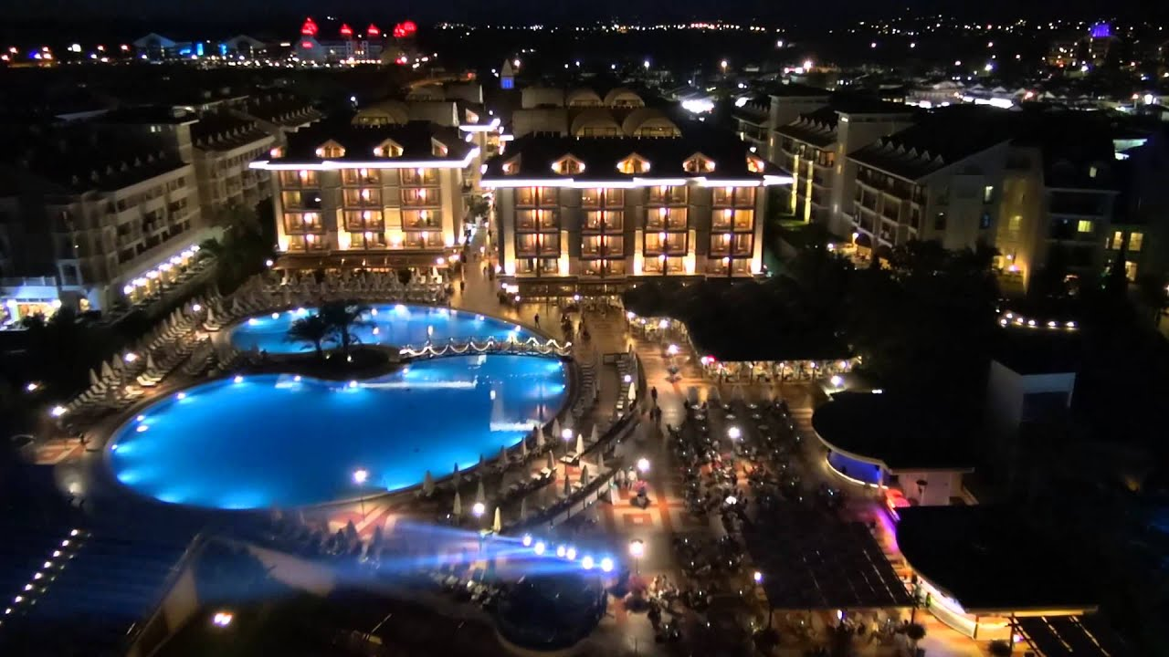 Sentido turan prince hotel side youtube for Sentido turan prince side