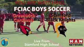 HAN on Demand: Greenwich at Stamford boys soccer - HD version thumbnail