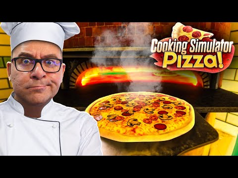 COOKING SIMULATOR PIZZA #1   O INICIO DA CARREIRA DO PIZZAIOLO