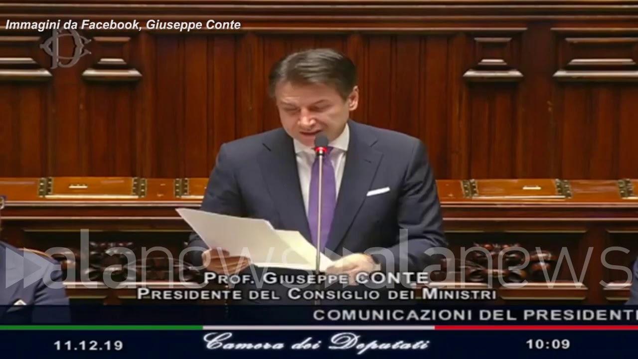 """Mes, Conte: """"Chi vuole Italia fuori dall'Europa lo dica"""" lo dicono gli italiani"""