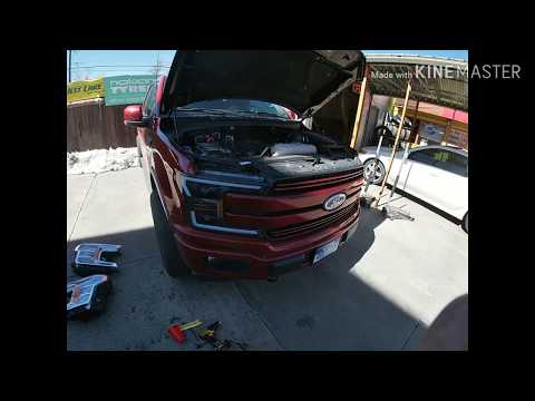 2018-20 Ford f150 LED SEQUENTIAL HEADLIGHTS INSTALL ALPHAREX PRO-SERIES