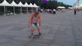 Скейтбординг в Китае (Далянь, Пекин)
