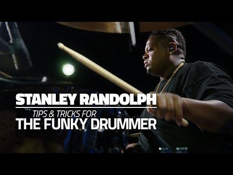 Stanley Randolph - Tips & Tricks For The Funky Drummer (FULL DRUM LESSON)