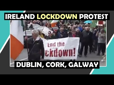 IRELAND LOCKDOWN Protest May 1st GALWAY, DUBLIN, CORK / Hugo Talks #lockdown