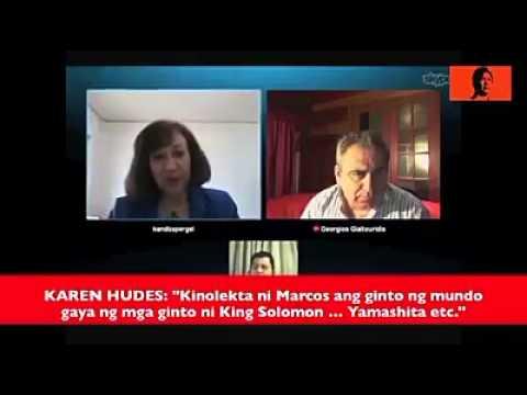 Pres.  Ferdinand E.  Marcos  (Karen Hudes) Part 1