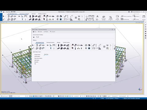Tekla Structures - Ribbon Customization 2021