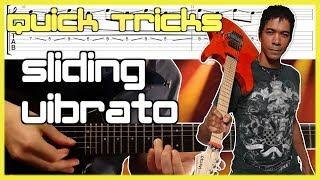 Fusion Style Sliding Vibrato | Greg Howe, Richie Kotzen, Govan Etc.