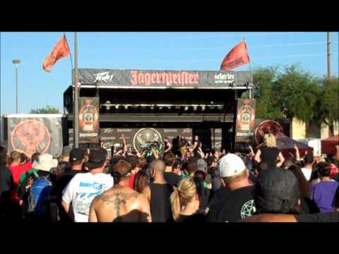 Desert Uprising 2012- All That Remains- This Calling