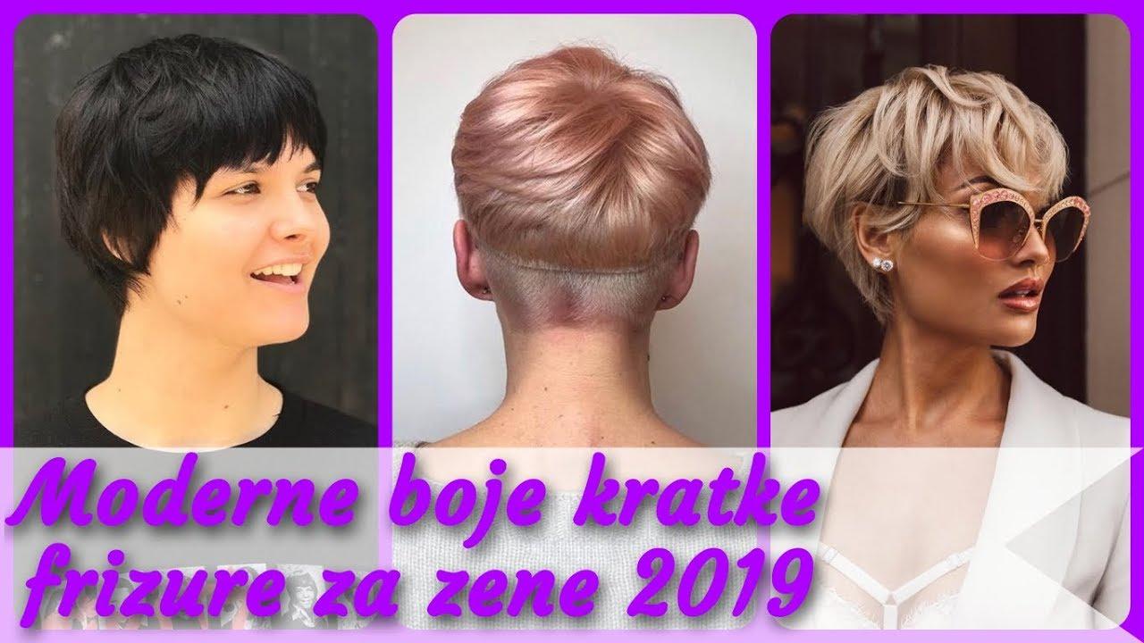 Top 20 Moderne Boje Kratke Frizure Za Zene 2019