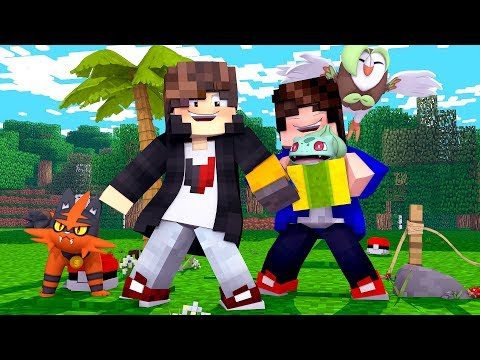 Minecraft: MUNDO L POKEMON - GANHEI UM PRESENTE - ‹ JUAUM › #55