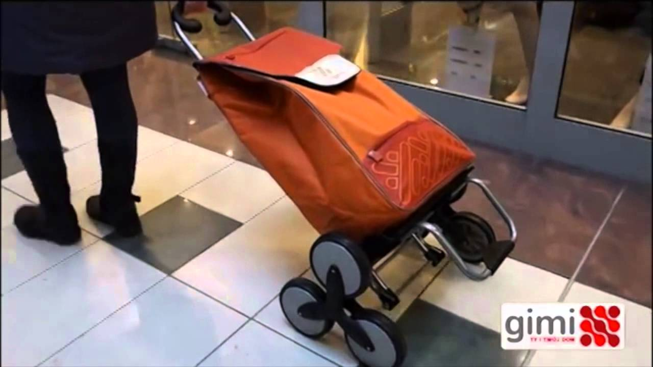 0755eb7fc361 Gimi Tris lépcsőjáró bevásárlókocsi - YouTube
