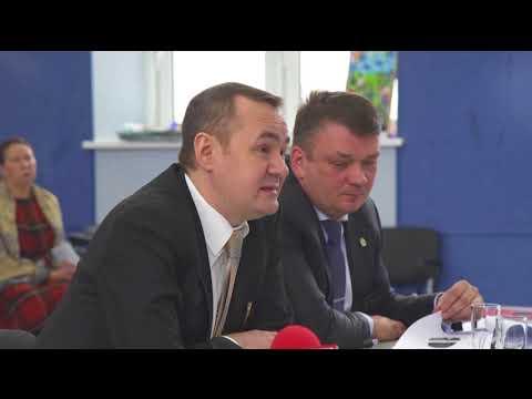 Основные показатели и актуальные вопросы деятельности ЦГБ озвучил главврач Илсур Фатихов