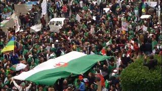 Algérie : les manifestants en masse dans les rues d'Alger 2/2 | AFP Images