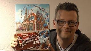 Chocolate Factory (Alley Cat Games) - ab 10 Jahre - Kennerspiel mit interessanten Planmechanismus