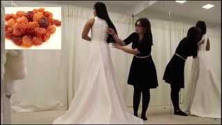 Обзор. Свадебное платье 2016, AURELIA.