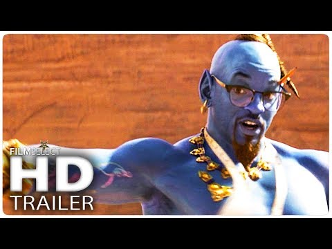 Sam and Ryan Show - New Aladdin Trailer!! How does Will Smith's Genie look this time?