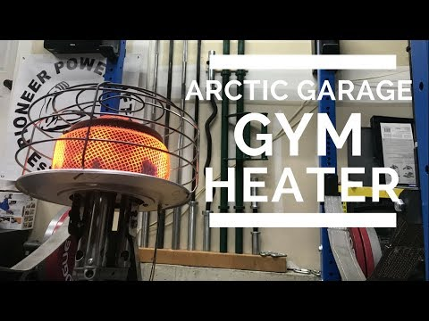 Garage gym portable heater youtube