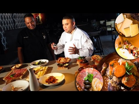 Inside TABLAO FLAMENCO w/ Chef Marc Quiñones