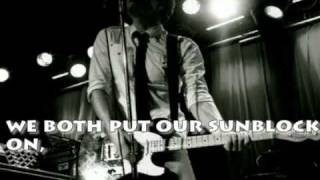 Owl City-Sunburn LYRICS