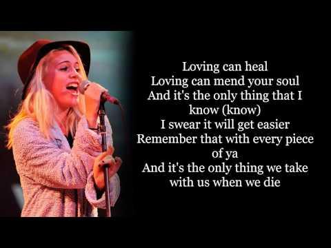 Boyce Avenue - Photograph feat. Bea Miller (Lyrics Video)
