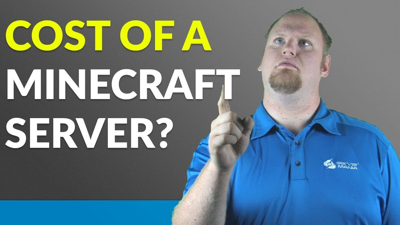 How much does a Minecraft server cost?