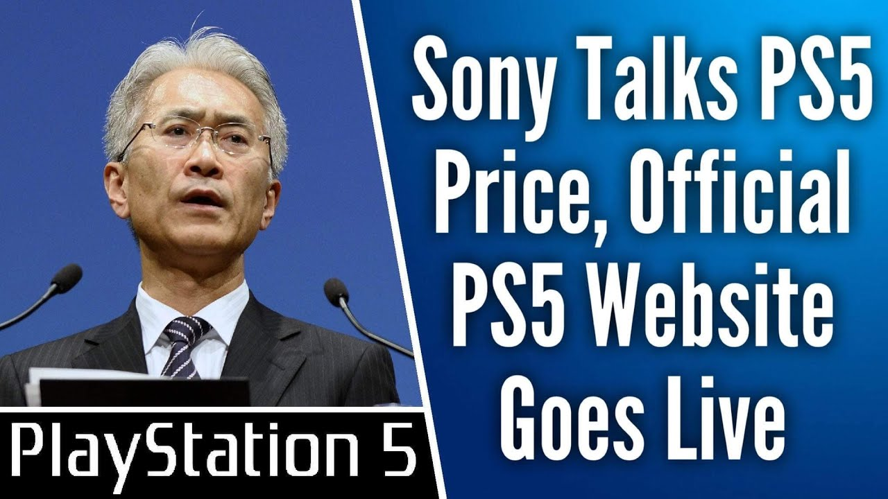 Sony Launches Official PS5 Website Ahead Of Reveal, Price And ...