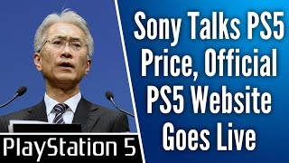 Sony Waiting For Xbox Series X Price Reveal Before Determining PS5 Price, Official PS5 Website is Up