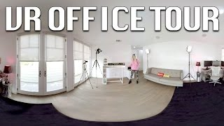 iJustine Office Tour 2016 - VR Video!