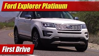 Ford Explorer Platinum: First Drive