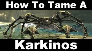 How To Tame A Crab - Karkinos - ARK: Aberration