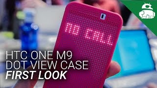 HTC One M9 Dot View Case First Look