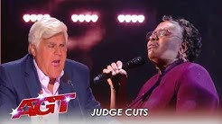 Callie Day: Amazing Singer Takes Jay Leno To CHURCH! | America's Got Talent 2019