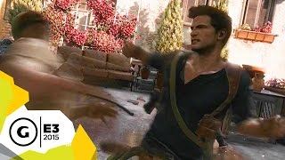 Uncharted 4 Looks More Open and Action-Packed Than Ever - E3 2015