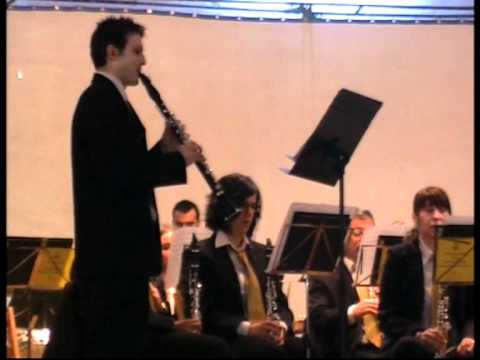 the Viktor's tale,pieza para clarinete y banda,solista Iker Vilches Aransaez