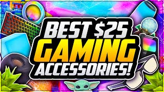Top 10 BEST Gaming Setup Accessories UNDER $25! 🎮 Best BUDGET Gaming Equipment For YOUTUBERS! [2021]