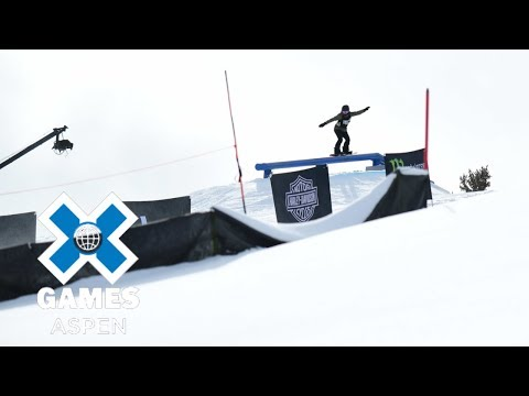 Women's Snowboard Slopestyle: FULL BROADCAST | X Games Aspen
