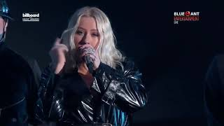 "Cristina Aguilera - Fall In Line ft. Demi Lovato live on ""Billboard Music Awards 2018 HD"" Video"