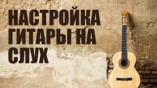 Видео уроки гитары для начинающих - Настройка гитары на слух
