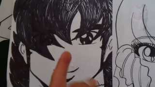 Como Dibujar Kawaii!! ROBOTECH How to draw LYN MAY FACE 1#BOCETO X db