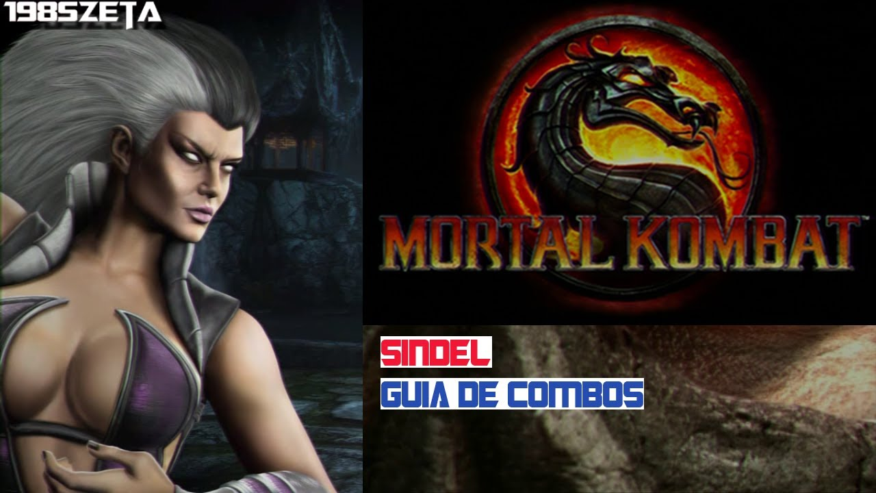 Mortal Kombat 9 Sindel Second & Secret Fatality Mouthful