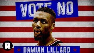 Vote NO for Damian Lillard | 2018 NBA MVP Attack Ads | The Ringer