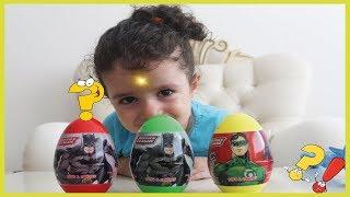 Batman sürpriz yumurtalarından Masala neler çıkacak. Çocuk su
