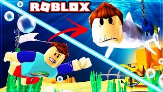 how to become a shark in roblox