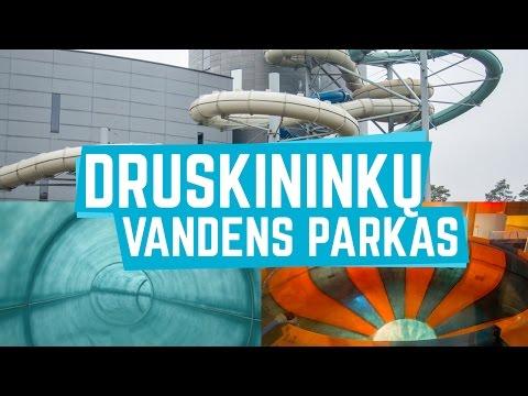 All Water Slides at Druskininkų Vandens Parkas   Druskininkai Aquapark (GoPro)