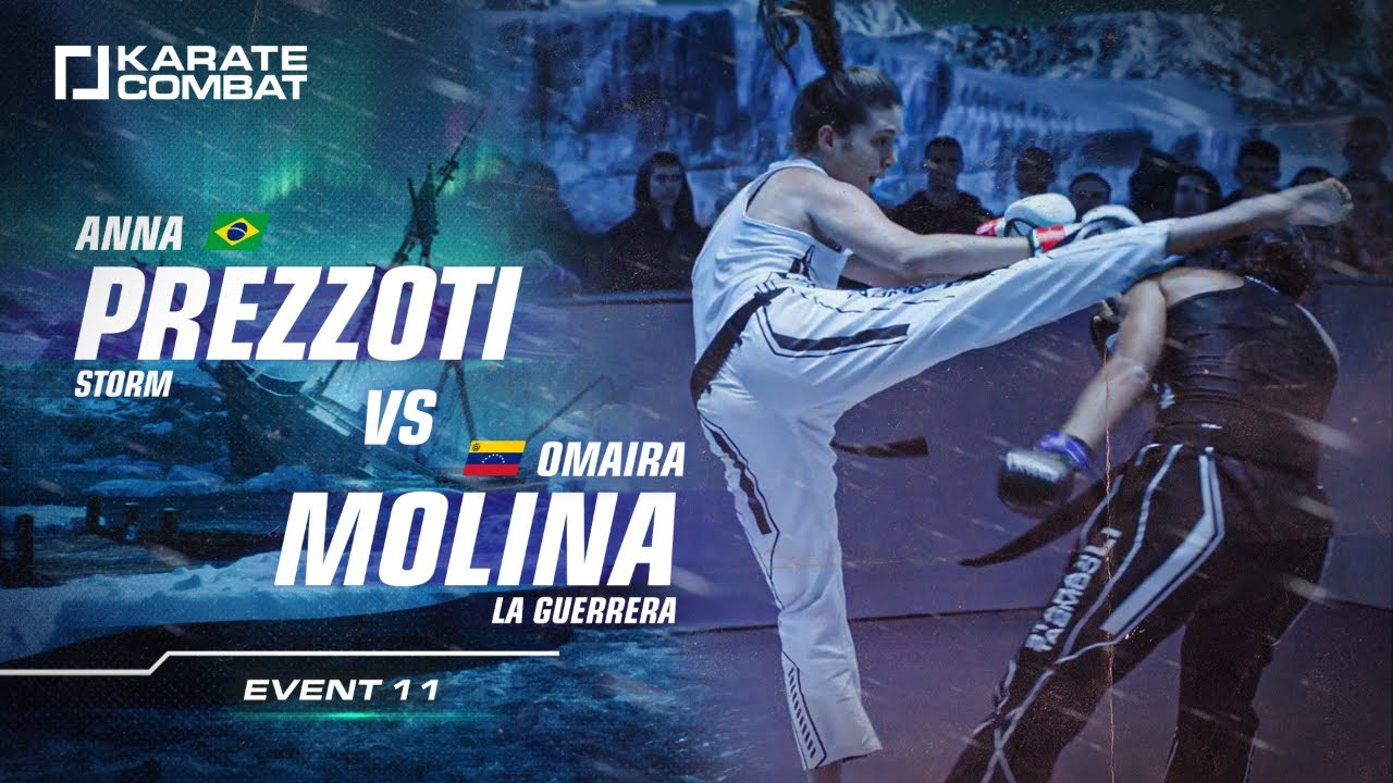 FULL FIGHT: ANNA PREZZOTI vs OMAIRA MOLINA - Karate Combat S02E11