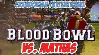 BLOOD BOWL 2 Teiko Dwarfschool vs Mathas
